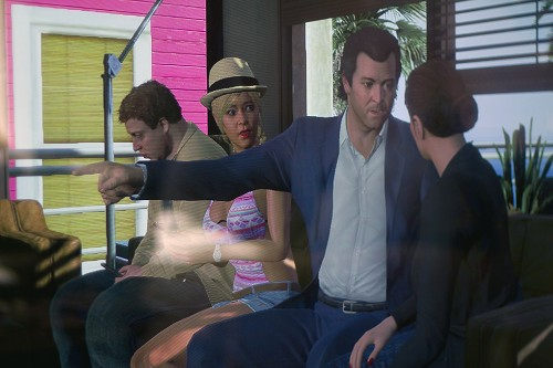 Is it real, or is it 'GTA V'? A trippy travelogue on the streets of Los Santos
