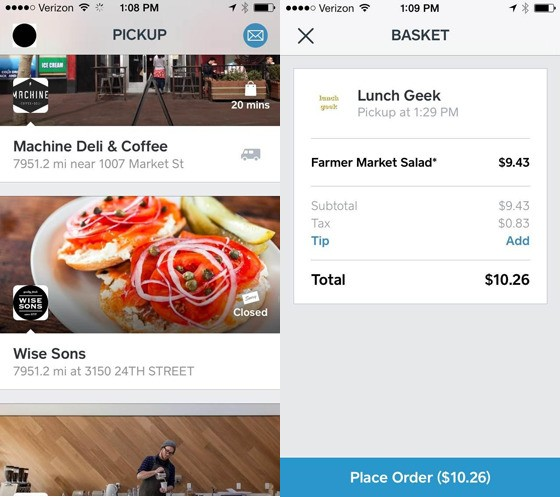 Square tests Pickup app for ordering ahead from local restaurants