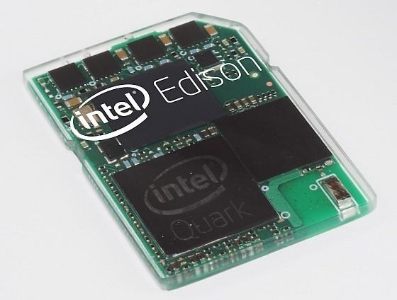 Intel announces Edison, a computer the size of an SD card