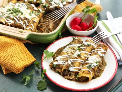 The Food Lab: How to Make the Best Creamy Chicken Enchiladas