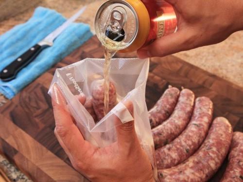 Sous Vide Sausages Recipe