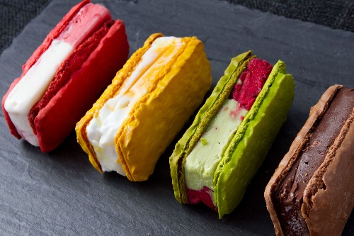 Payard's Macaron Ice Cream Sandwiches Are a Mashup We Can Get Behind