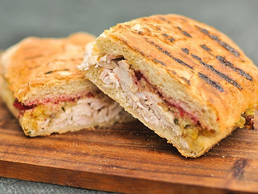 Grilling: Thanksgiving Leftover Panini