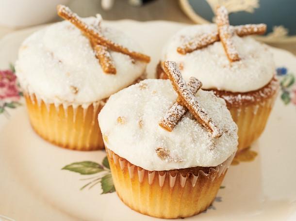 Robicelli's Pastiera di Grano Cupcakes