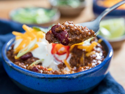 Pressure Cooker Ground Beef and Bean Chili Recipe