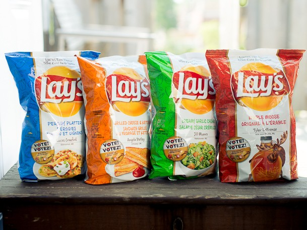 We Try New Lay's Canada Chips Flavors: Garlic Caesar, Maple Moose, Grilled Cheese, and Perogy