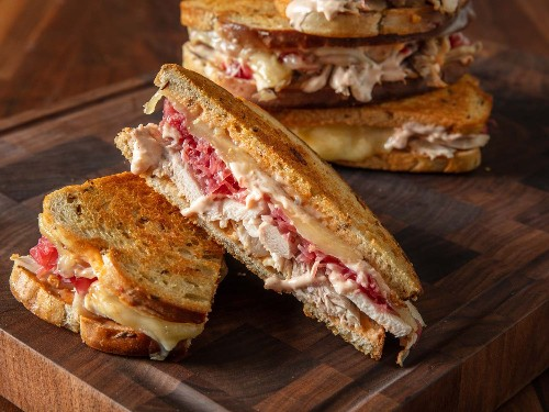 Thanksgiving Turkey Reuben Sandwich Recipe