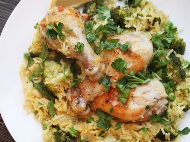 Chicken and Rice with Broccoli Recipe
