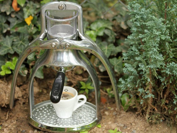 Taking Espresso Off the Grid with the ROK Espresso Maker