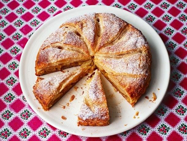Bake the Book: Pear Frangipane Croustade