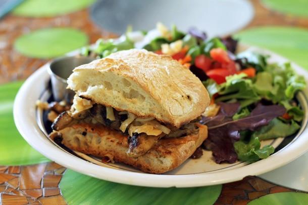 A Sandwich A Day: Chicken Satay Sandwich at Thai Fresh in Austin, TX