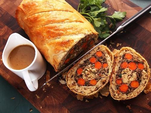 Vegetables Wellington (The Ultimate Vegan Plant-Based Holiday Roast) Recipe