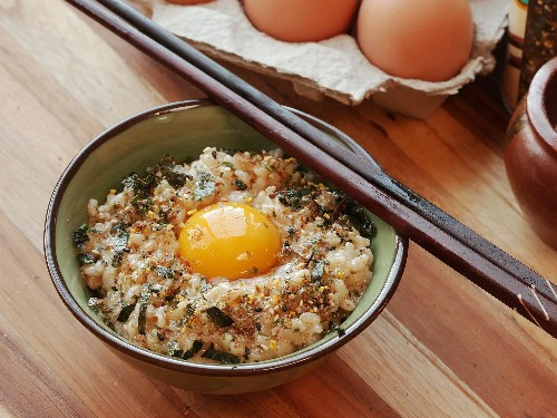Tamago Kake Gohan (Japanese-Style Rice With Egg) Recipe