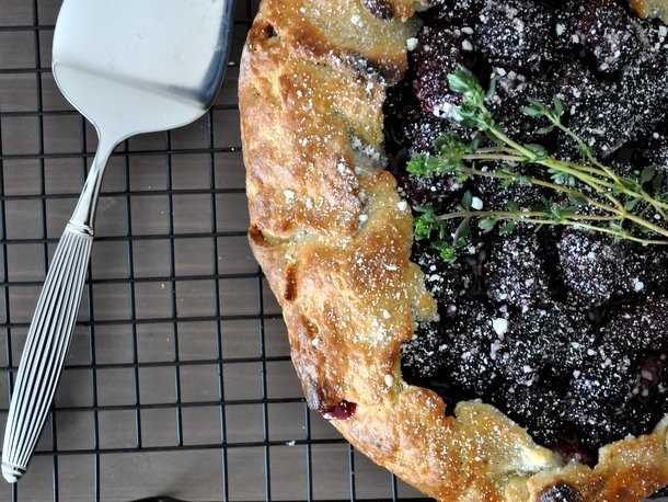 Blackberry Thyme Galette Recipe
