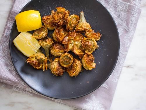 Roman-Jewish Fried Artichokes (Carciofi alla Giudia) Recipe