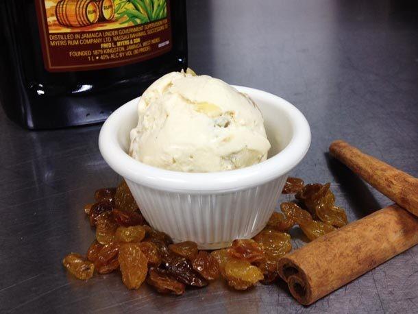 Rum Raisin Ice Cream Recipe