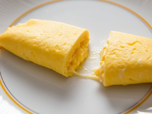 French Omelette With Cheese Recipe