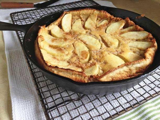 Gluten-Free Dutch Apple Pancake Recipe