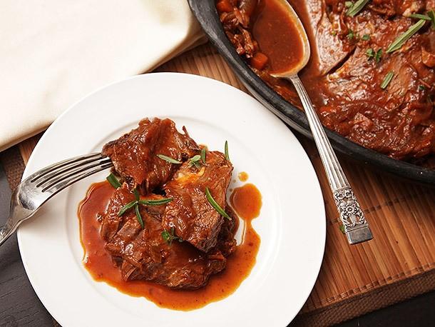 Beer-Braised Bison Pot Roast Recipe