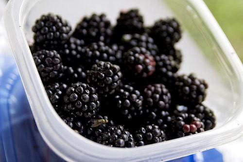 Blueberry-Blackberry Pie with Pretzel Crust Recipe