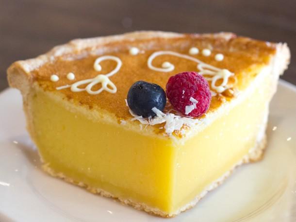Sugar Rush: Lemon Tart Slice at Macrina Bakery, Seattle