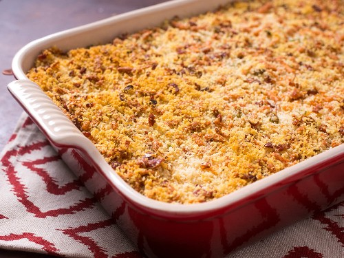 The Magic of Crispy, Creamy, Fully Loaded Make-Ahead Mashed Potato Casserole