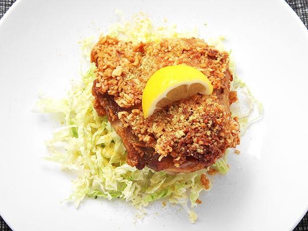 Fry Your Chicken in Ramen