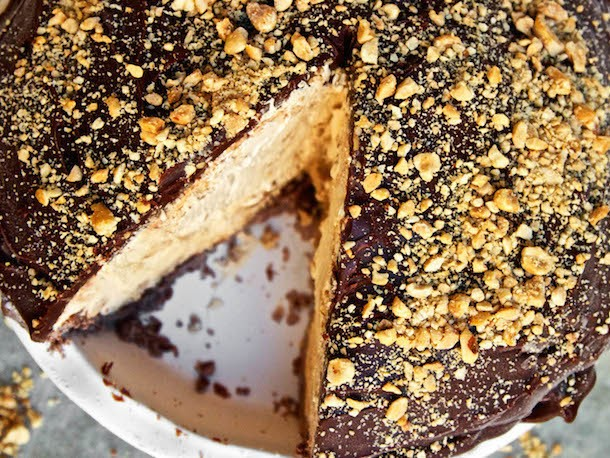 Ideas in Food vs. The Snickers Bar (or How to Make the Ultimate Snickers Pie)