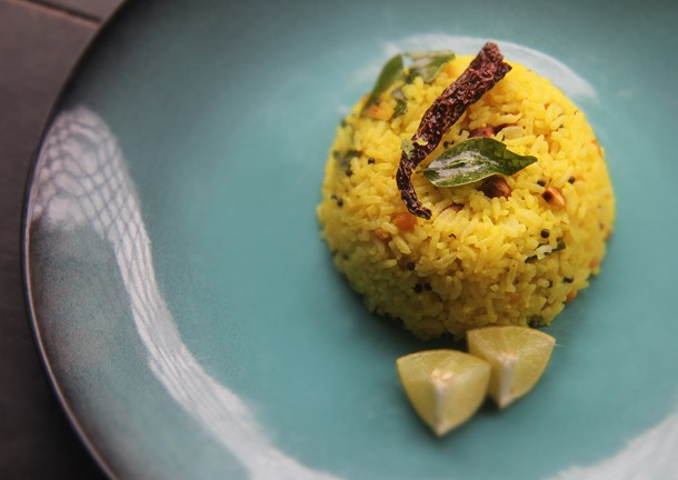 South Indian Lime Rice Recipe