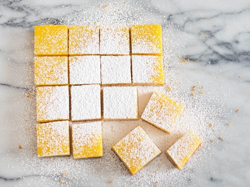 Sunny Lemon Bars Recipe