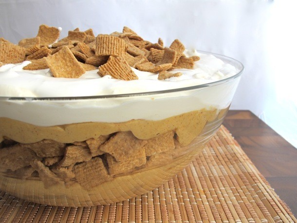 Spiced Pumpkin and Golden Grahams® Cereal Trifle Recipe