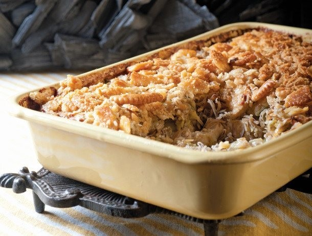 Classic Chicken and Wild Rice Hotdish From 'The New Midwestern Table'