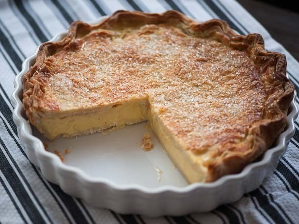 Double-Crusted Buttermilk Pie Recipe