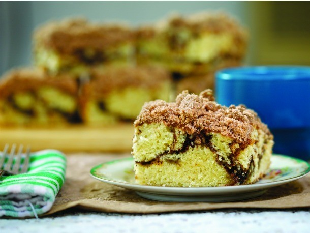 Extra Crumb Coffee Cake Recipe