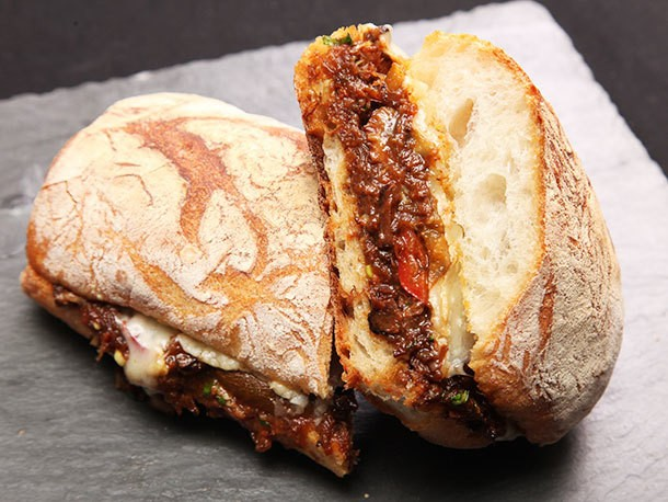 Low and Slow: Braised Oxtail and Gruyère Sandwiches