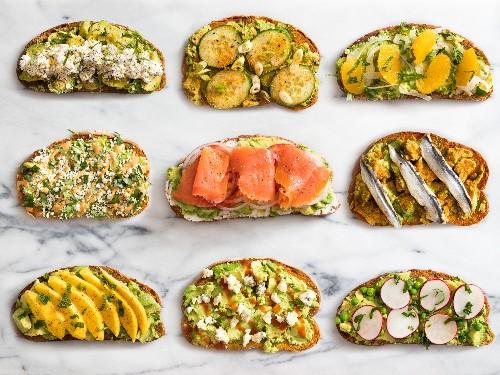 9 No-Cook Twists on Avocado Toast