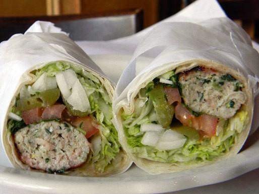 A Sandwich a Day: Chicken Koubideh Wrap at Reza's