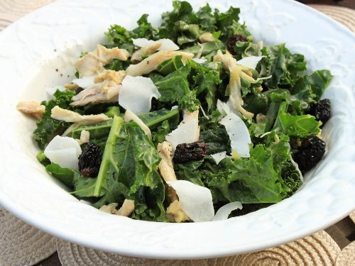 One-Pot Wonders: Warm Kale and Curried Chicken Salad With Toasted Coconut and Dried Cherries