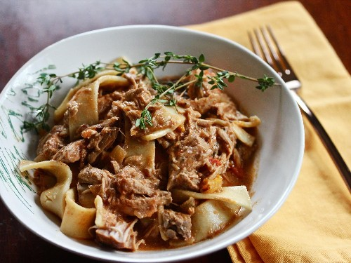 Slow-Cooker Pork Paprikash Recipe