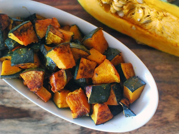 Roasted Kabocha Squash With Soy Sauce, Butter, and Shichimi Togarashi Recipe