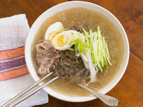 Mul Naengmyun: The Cold Korean Noodle Soup Perfect for Summer