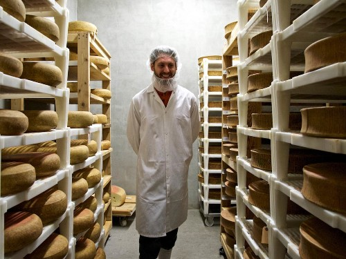 The Secrets of Aging Cheese: A Tour of Murray's Cheese Caves