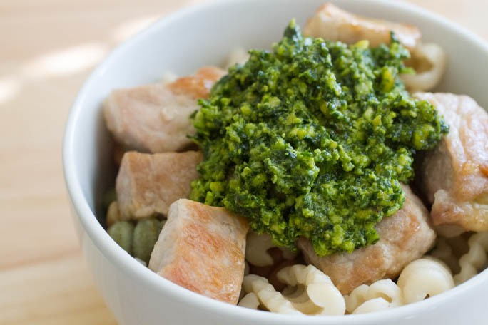 Comfort Me With: Spinach Pesto Chicken