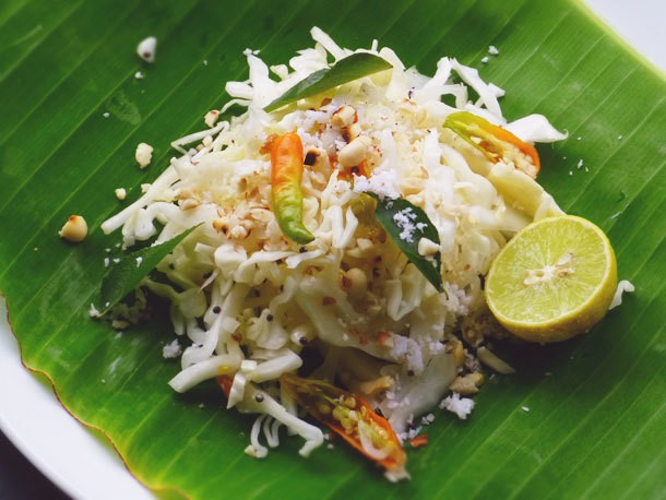 Quick Indian Cabbage Salad Recipe
