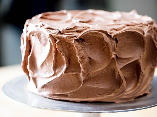 Delicious Chocolate Frosting Starts With Brown Sugar Swiss Meringue