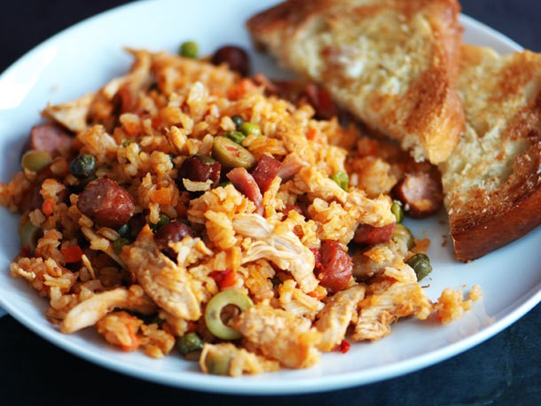 Nicaraguan Arroz con Pollo Recipe