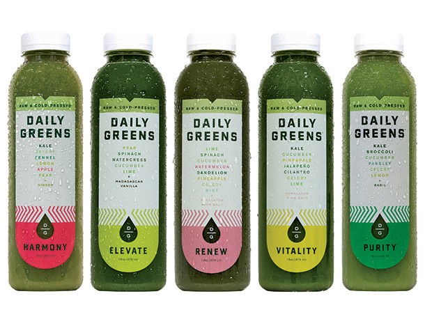 We Try All the Green Juices From Daily Greens