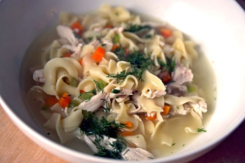 Dinner Tonight: Alice Waters' Chicken Noodle Soup Recipe