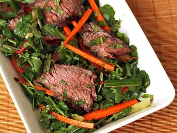 Nigel Slater's Grilled Beef Vietnamese Salad Recipe