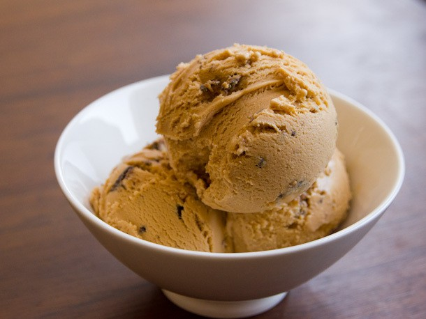 Dulce de Leche Ice Cream with Samoas Recipe